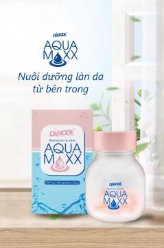 Viên Cấp ẩm, Tái tạo, Bổ sung collagen - Aqua Maxx
