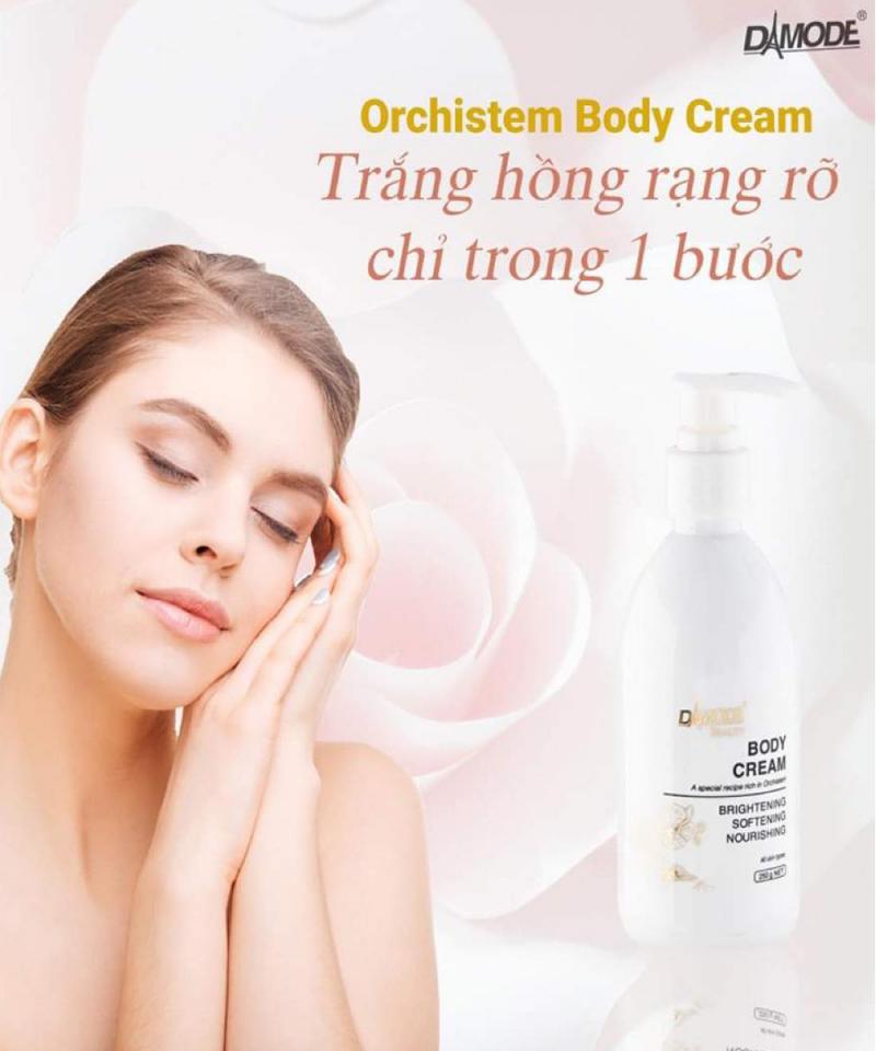 Kem Dưỡng Trắng Da Body Cream Orchistem