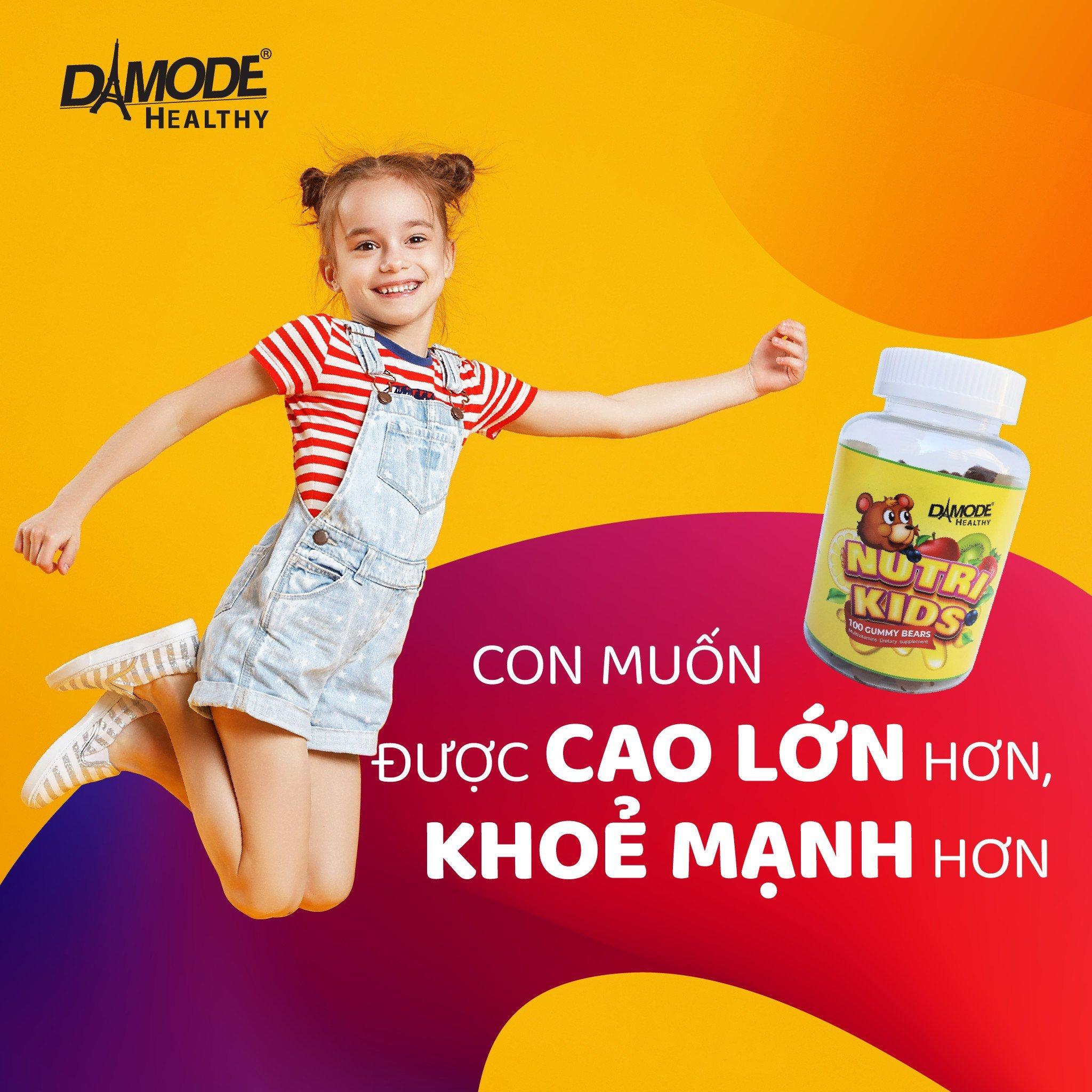 Vitamin, Khoáng Chất, Tăng Sức Đề Kháng Cho Trẻ Em - Nutri Kids